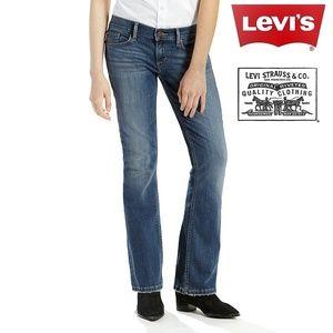 Levi's | 524 Too Superlow Bootcut Blue Jeans | 5
